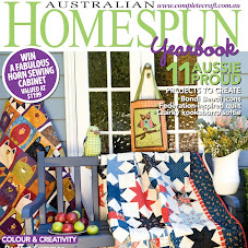 i'm featured in Homespun magazine