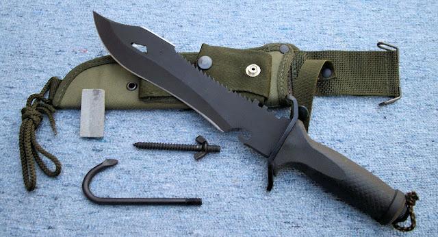 Baco tacticos cuchillos cuchillo yarar de comando y for Cuchillos japoneses tipos