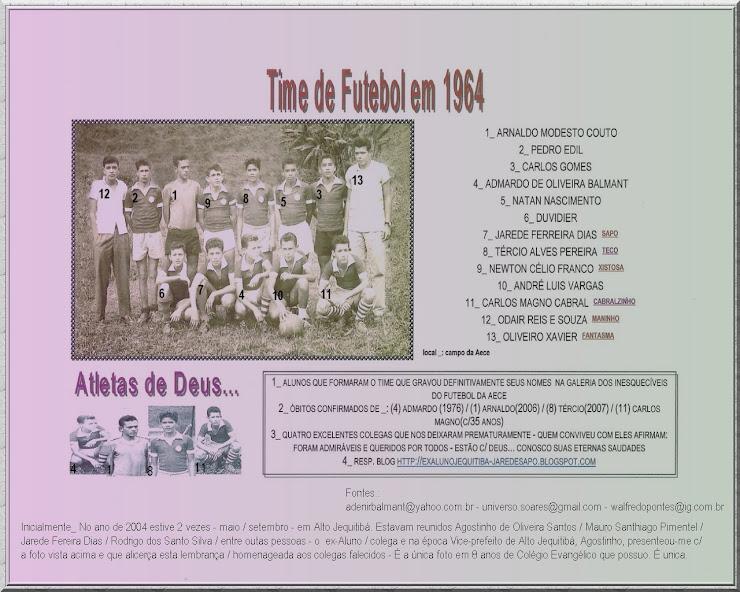Time de Futebol em 1964