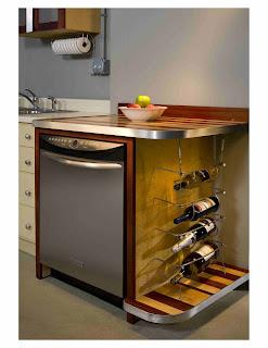 Scott McBurney Furniture Designs Dishwasher cabinet and