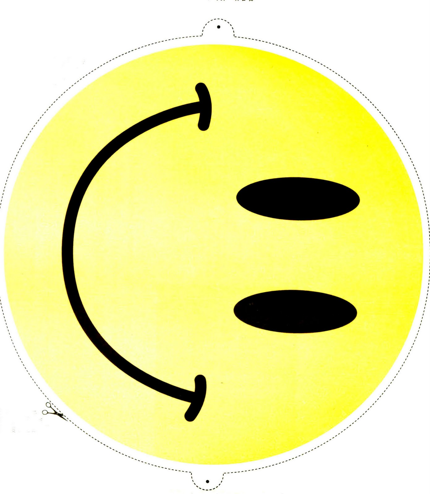 It's just a picture of Terrible Printable Smiley Faces