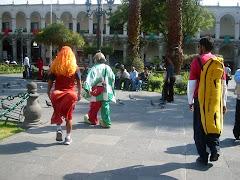 galería paseando por las calles de Arequipa - Perú