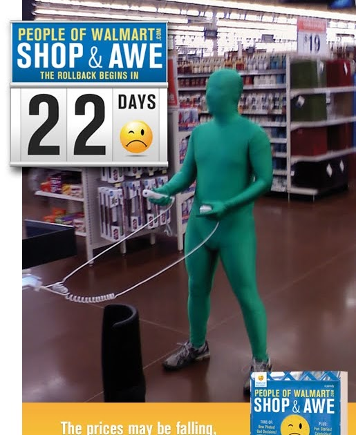 "PopCultureGuy: ""People of Walmart: Shop & Awe"""