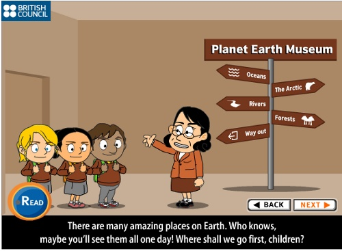 Learnenglishkidsbritishcouncilorg En Short Stories Planet Earth