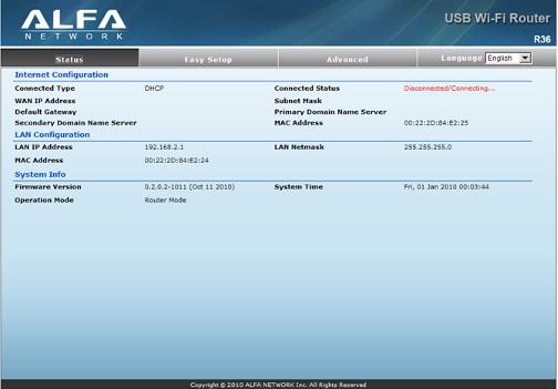 Download driver alfa awus036h xp