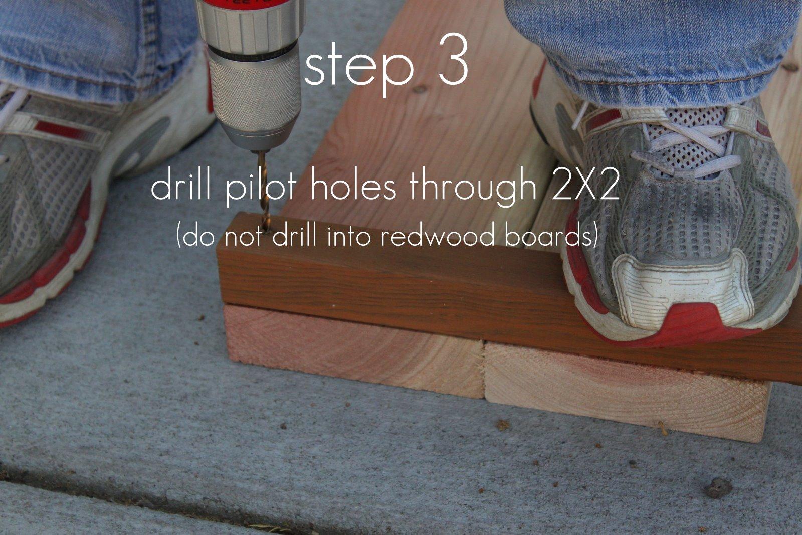 how to build raised garden box 2x10