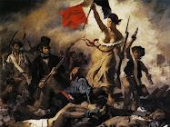 """11.- """"La Libertad guiando al pueblo""""."""