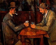 """14.- """"Los jugadores de cartas"""""""