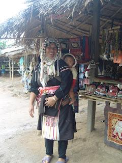 stammefolk hilltribes Chiang Rai Thailand