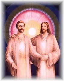 Amados Maestros Ascendidos Jesús y Saint Germain. Unidos en una sola causa de Amor para la tierra.
