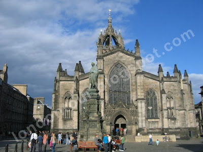 St Giles Cathedral'i