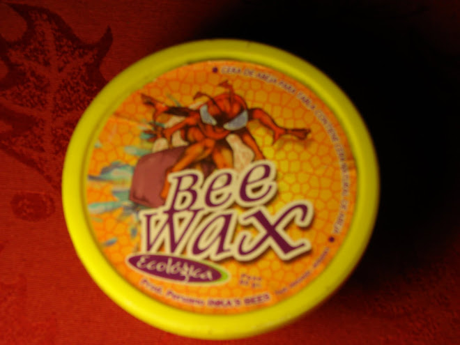 8 Abril-9,Bee Wax 100% Peruana.