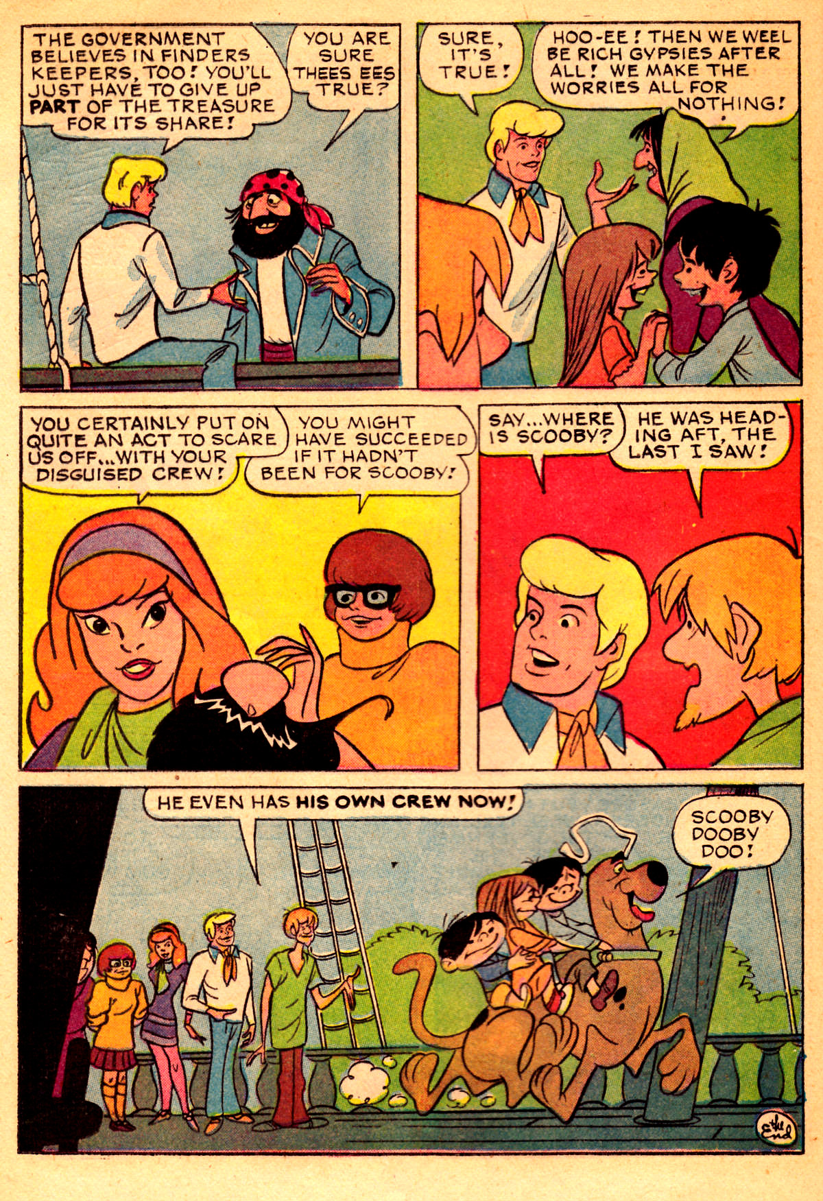 Read online Scooby-Doo... Where Are You! (1970) comic -  Issue #2 - 15