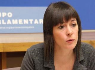Ana Pontón, nova portavoz nacional do BNG diríxese a militancia na XVAN