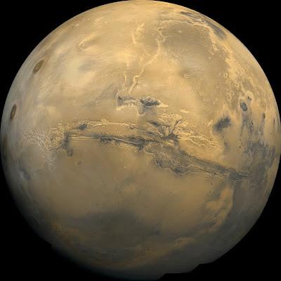 Western Hemisphere of Mars