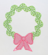 Ribbon Ric Rac Wreath