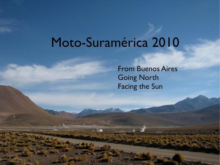 Moto-Suramérica 2010