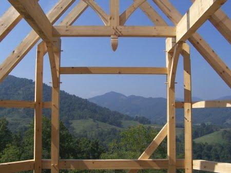 Timberpeg Brand Timber Frames