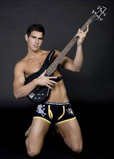 sexy men guitar