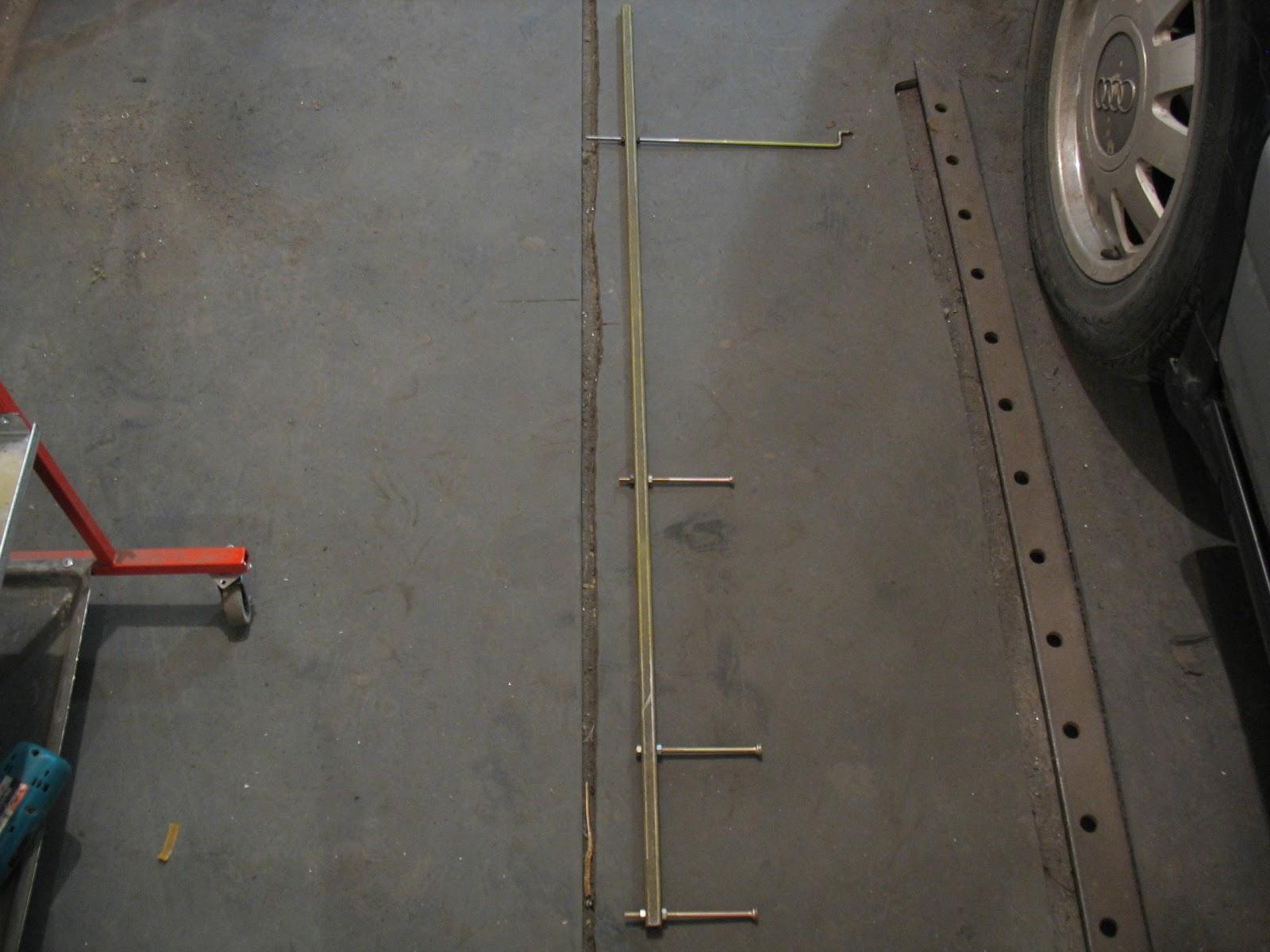 Стапель в гараже210