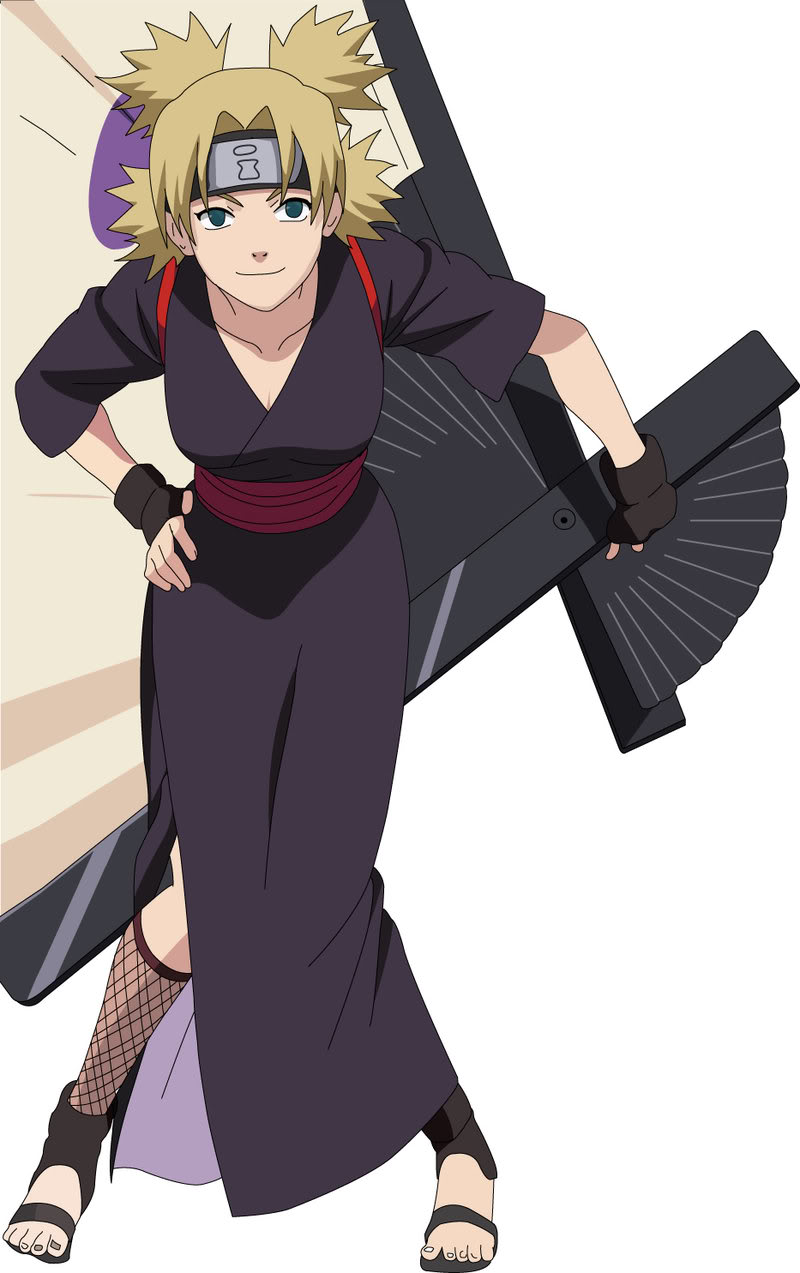 Level E Anime Characters : Anime craze character gallery temari