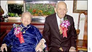 Лиу Юнг-янг и Янг Ван, самые продолжительные браки