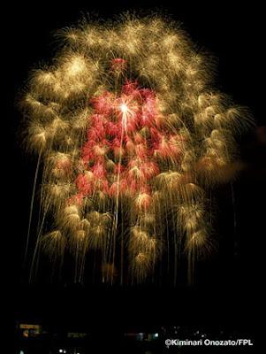 фейерверк, огнепад