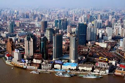 самые большие по численности города в мире, Шанхай