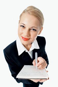 фразы, деловая женщина