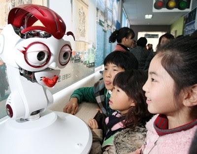 Робот-учитель, андроид