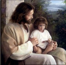 Jesus Cares for Each Child