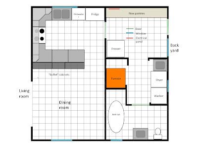 My Old New House Main floor plans