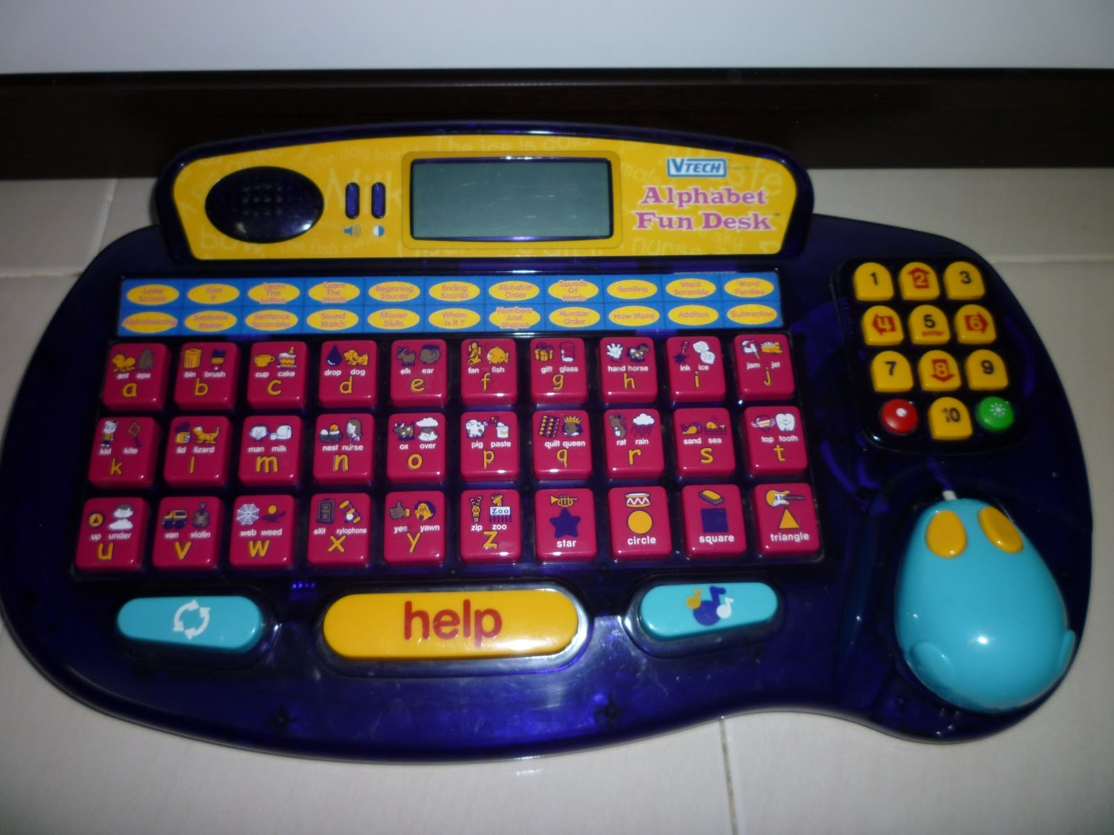 Fp Mania Vtech Little Smart Alphabet Desk