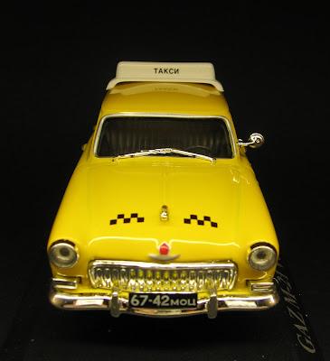 Volga M 21 - Miniatura automóvel - Taxi