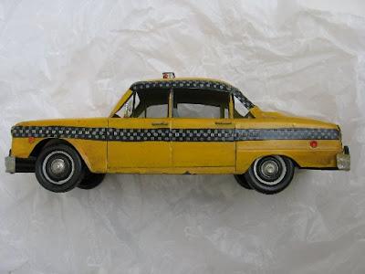 Táxi de lata: Checker de N.Y.
