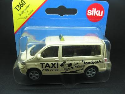 siku: VW Multivan - Großraumtaxi -Taxi espace