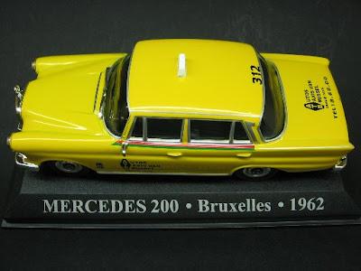 Mercedes 200 - Bruxelas - 1962