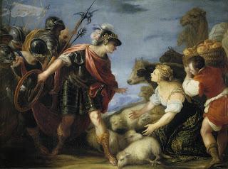 Prudent Abigail by Juan Antonio de Frías y Escalante