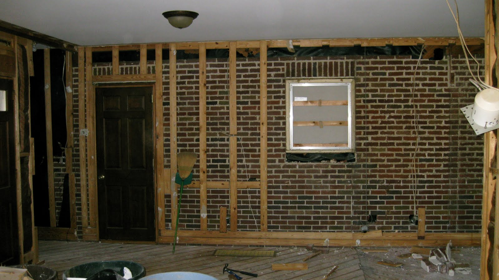 Our Home Makeover Just Another Brick In The Wall
