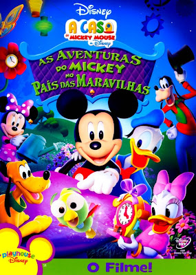 Filme A Casa Do Mickey Mouse : As Aventuras Do Mickey No País Das Maravilhas   Dublado