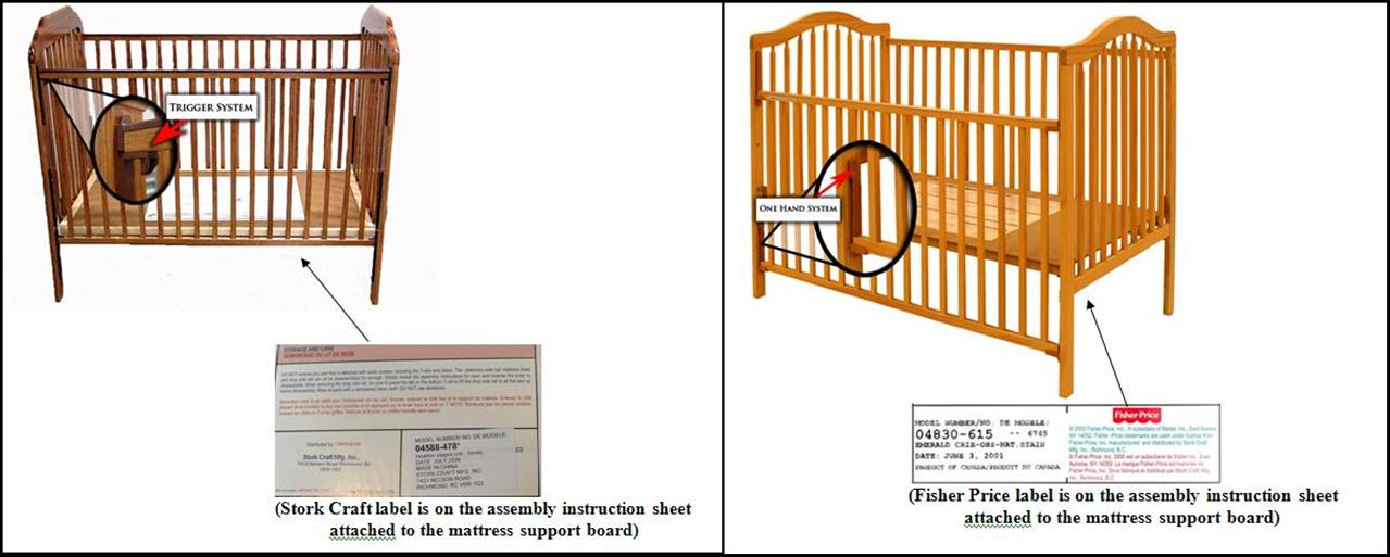 drop side crib assembly instructions