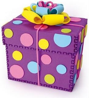 Tapa de caja para regalo