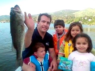 Black Bass en el embalse del Burguillo.