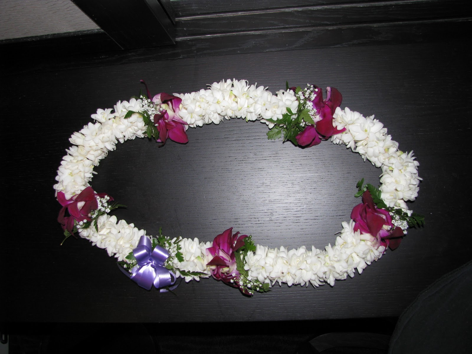 Hawaiian Flower Lei Greetings