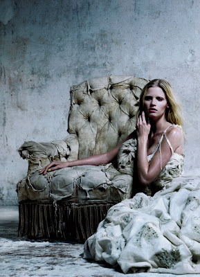 Lara Stone nude sexy for Vogue