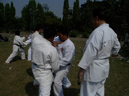 Latihan Gabungan di Monas
