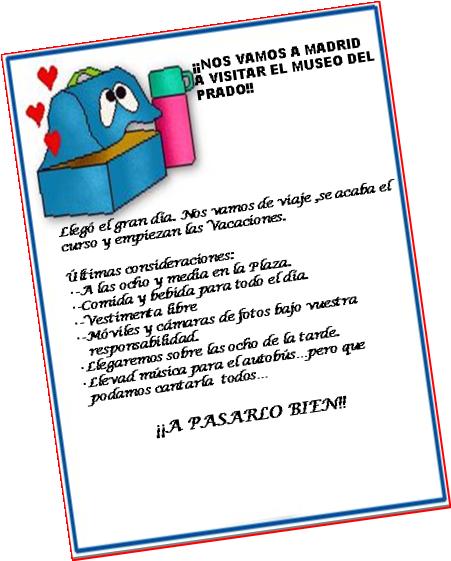 LOS QUINTINES: NOTA INFORMATIVA