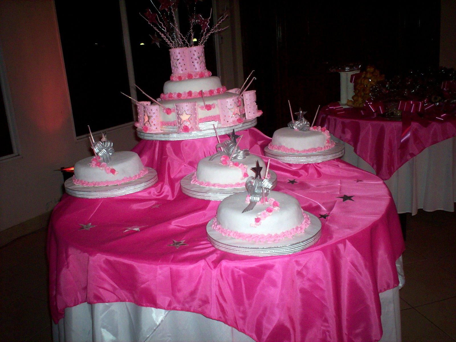 tortas y decoraciones 2011 mis 15 a os
