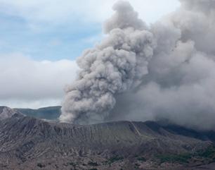 Foto Gunung Bromo Meletus