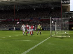 screenshot fifa football 2005 demo